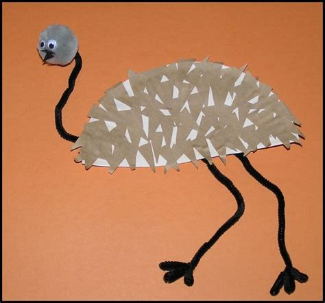 australian crafts for make an emu craft and learn about australia australia