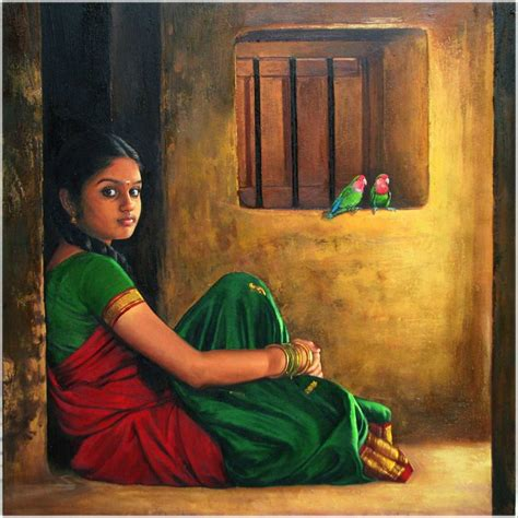 indian painting images paintings of rural indian painting 2 image