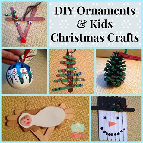 kid ornament craft ideas how to make diy ornaments with your