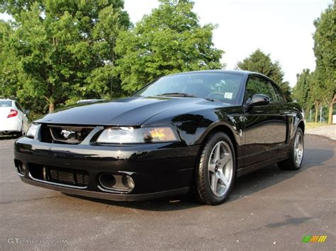 2003 Ford Mustang Cobra by Black 2003 Ford Mustang Cobra Coupe Exterior Photo