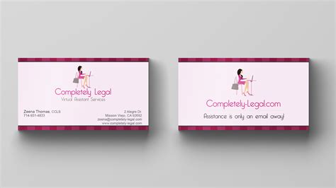 card for business card design assistant