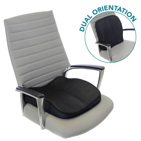 back cusion memory foam seat cushion for lower back support seat