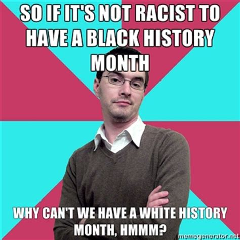 white history debunking white history month and a badly needed