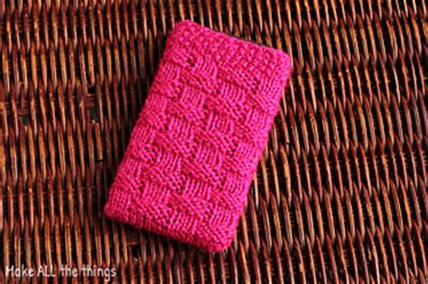 how to knit a phone sock ravelry knitted phone pattern by make all the things