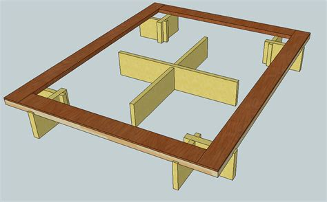 how to make a platform bed frame with drawers make platform bed frame autos post