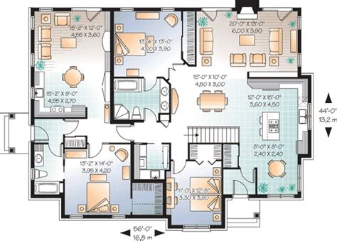 house plans with in suite in suite house plan 21768dr 1st floor master suite cad available canadian european