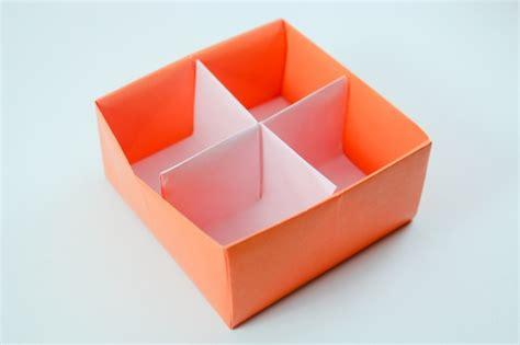 Diy Divider Origami Box Origami