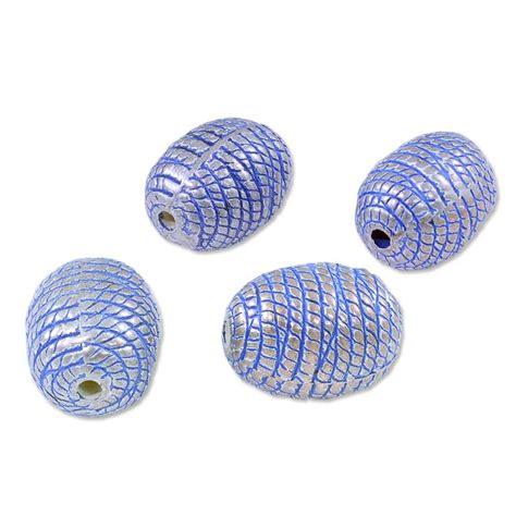 where to buy beading supplies bead beehive oval 14x10mm plastic sterling silver plated