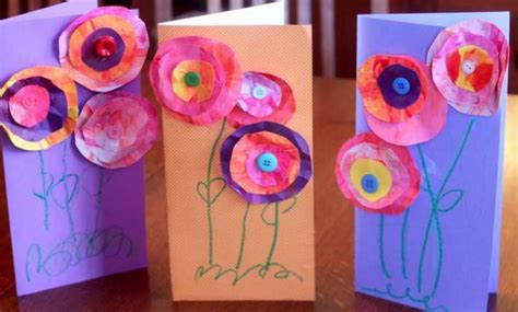mothers day crafts for to make s day craft for to make flower cards