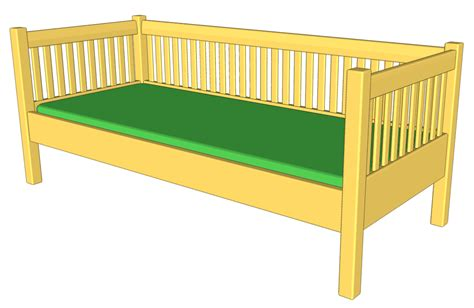 daybed woodworking plans daybed plans