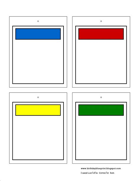 how to make blank cards 7 best images of blank printable cards blank