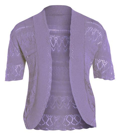 knitted jumpers australia new knitted bolero crochet jumper tops 16 26 ebay