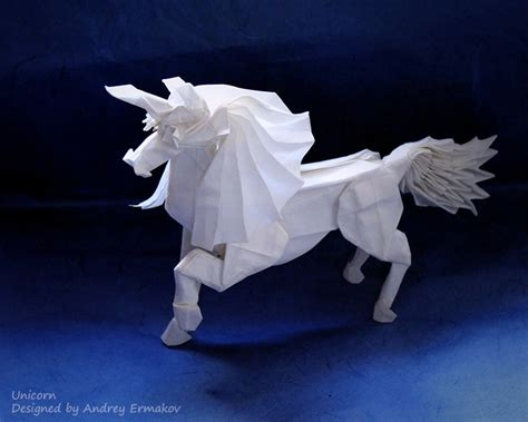 origami unicorn 20 creative origami designs