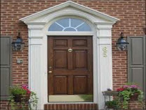 exterior door moulding exterior door trim molding ideas studio design