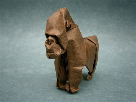 Gorilla Origami By Mitanei On Deviantart