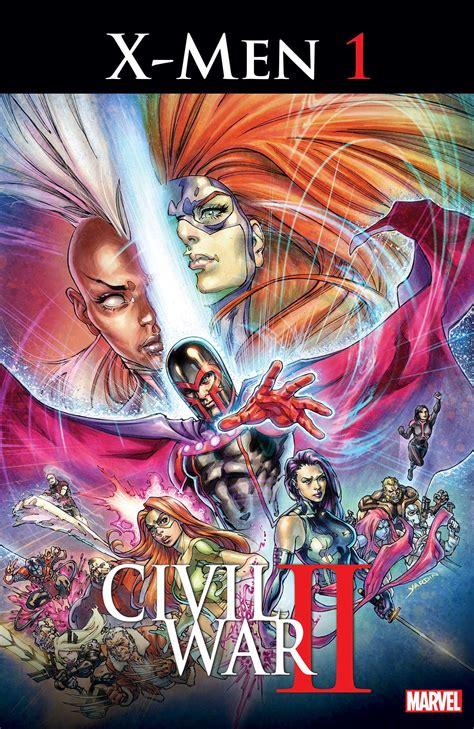 civil war ii marvel reveals civil war ii 1 bounding into comics