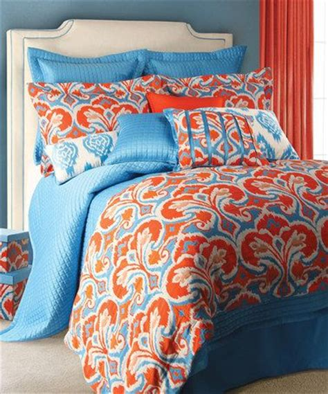 orange and blue comforter set blue orange light blue and comforter sets on