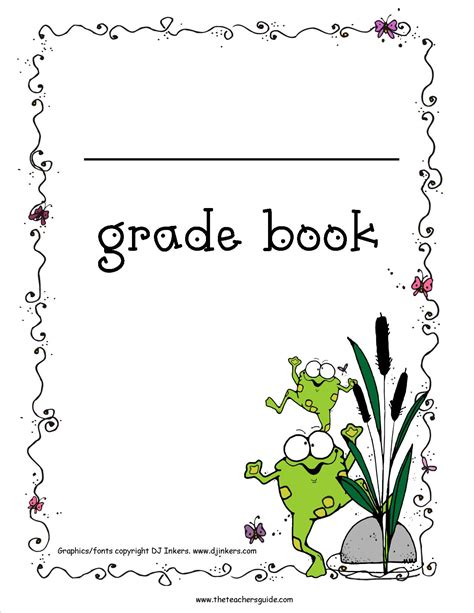 printable picture book free printable grade books