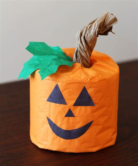 toilet paper pumpkin craft pin by erika maughan lewis on craft club ideas