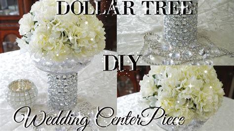 tree wedding centerpieces diy dollar tree bling floral wedding centerpiece 2017