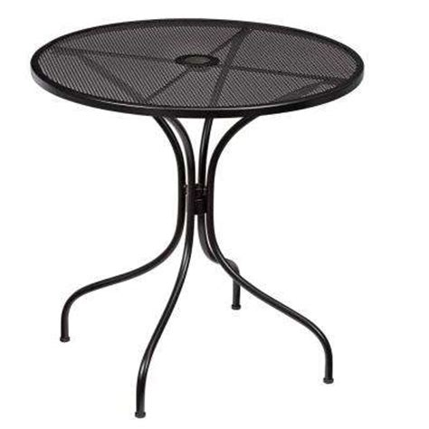 bistro patio tables outdoor bistro tables patio tables the home depot