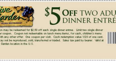 olive garden printable coupons kfc coupons codes