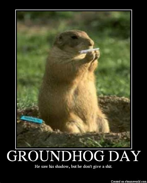 Groundhog Day Quotes Quotesgram Happy Groundhog