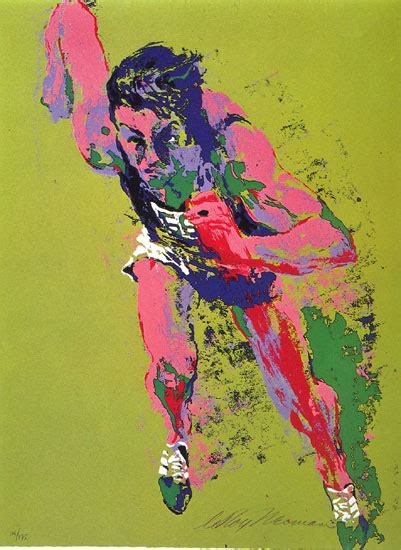 show about painting olympic runner by neiman leroy atkinson