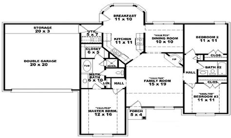 single story floor plans open floor plan house plans one story 28 images single