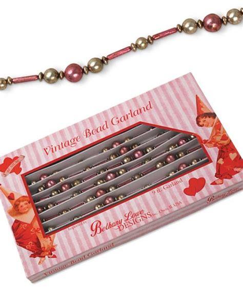 pink bugle pink bugle bead garland bethany lowe