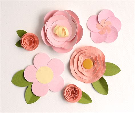 how to make paper roses for cards make easy paper flowers 5 fast tutorials on craftsy
