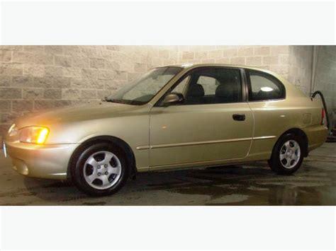 2 Door Hyundai Accent by 2001 Hyundai Accent Hatchback Coupe 2 Door Richmond