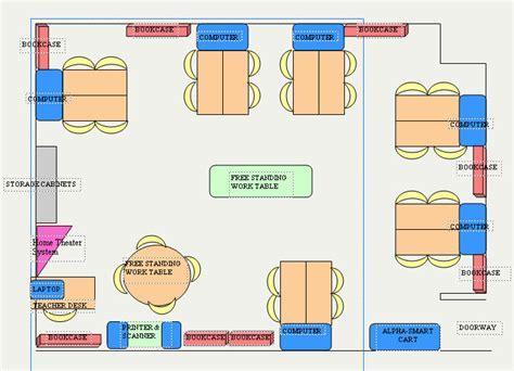floor plan classroom istc 301 integrating tech social