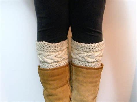 knitted boot cuffs boot cuff knitting pattern a knitting