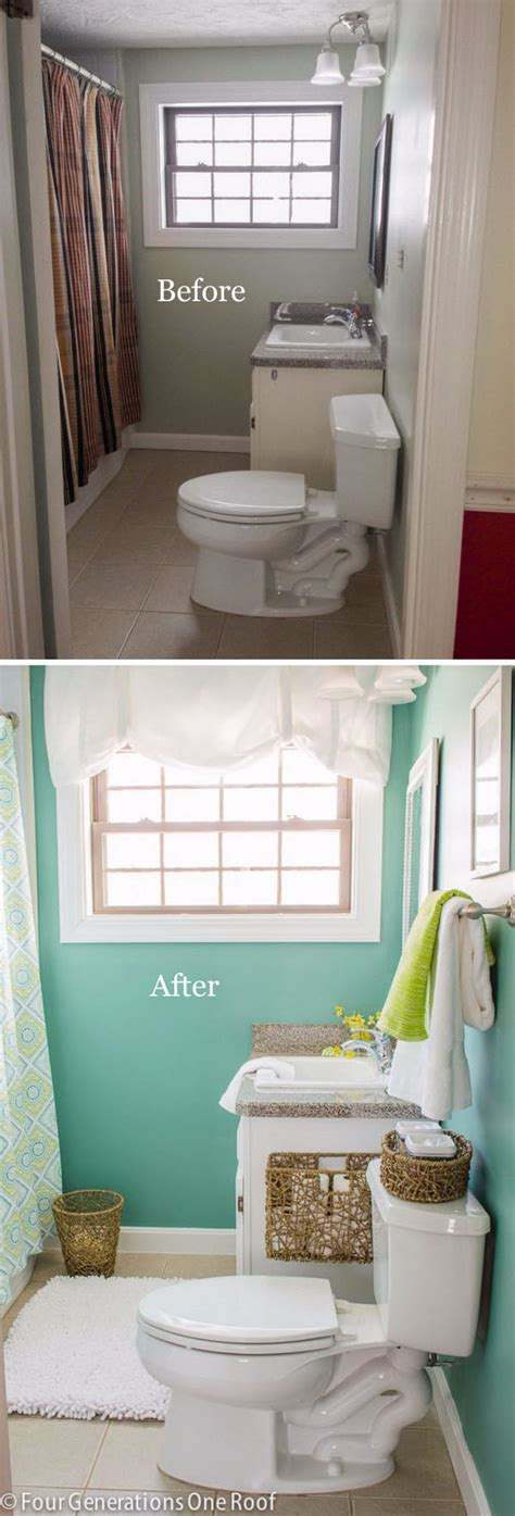 Bathroom Makeovers Cost by 50 Gorgeous Bathroom Makeovers With Before And After