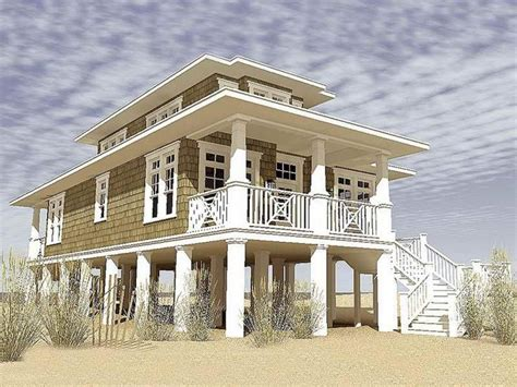 coastal homes plans coastal living house plans on pilings 2017 house plans