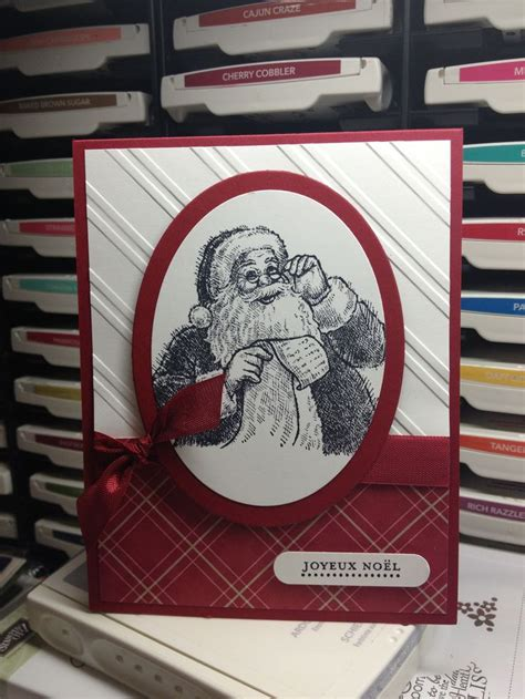up santas 1000 ideas about embossed cards on