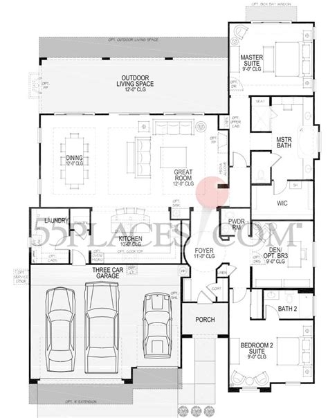 robson ranch floor plans rialta floorplan 2408 sq ft robson ranch