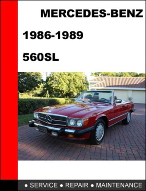 service repair manual free download 1989 mercedes benz e class lane departure warning mercedes benz 560sl 1986 1989 factory service repair manual downl