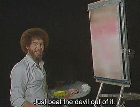 bob ross painting gif beatit bobross gif beatit bobross discover gifs