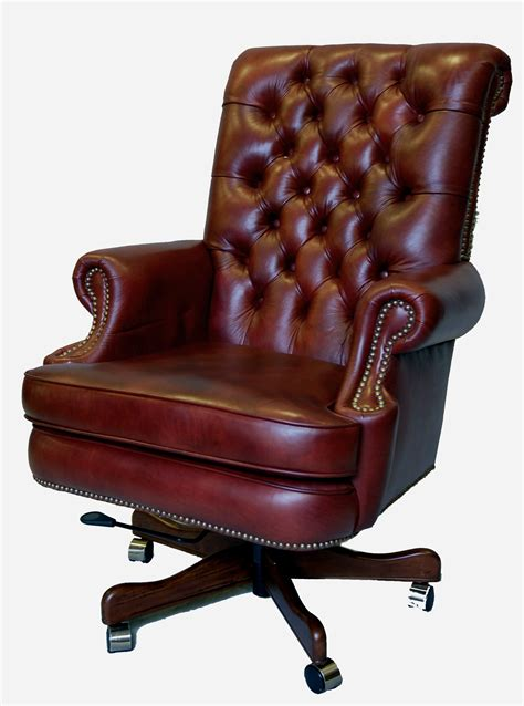 executive office chair leather large genuine leather executive office desk chair ebay
