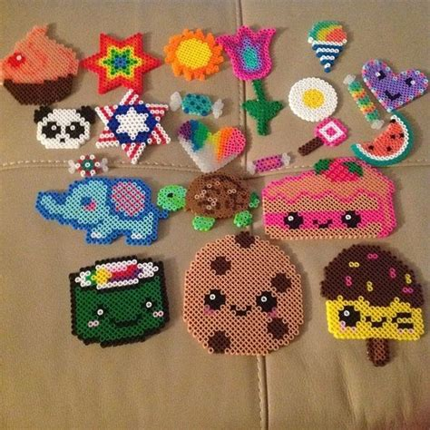 what to do with perler bead creations perler bead creations by charlene b10 hama plantillas