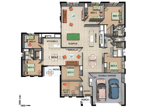 house plans with flats house plans with flat attached home design and style