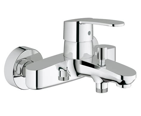 grohe bath shower mixer taps grohe eurostyle cosmo wall mounted bath shower mixer tap