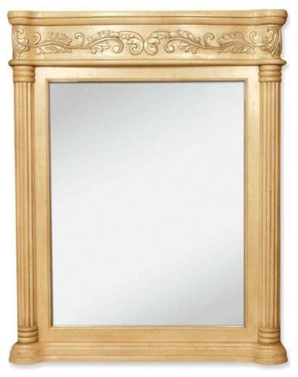 antique white bathroom mirror lyn design antique ornate 33 11 16 x 42 antique white