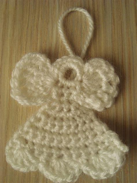 crochet tree ornament handmade by camelia pattern three ornaments crocheted