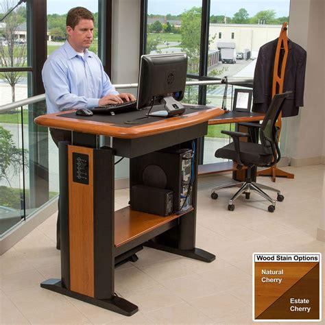standing office desks standing computer desk 1 caretta workspace