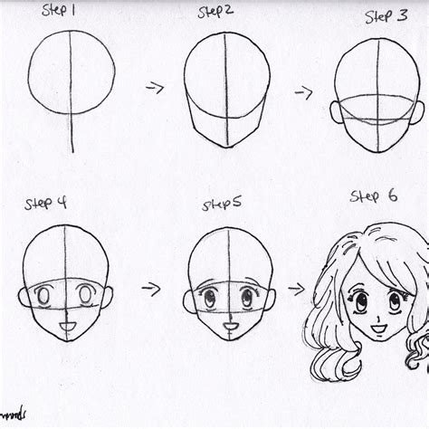 how to draw for beginners how to draw anime hair step by step for beginners