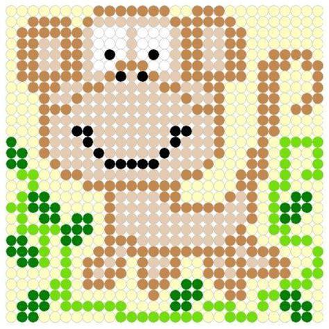perler monkey pattern monkey perler bead pattern crafts for