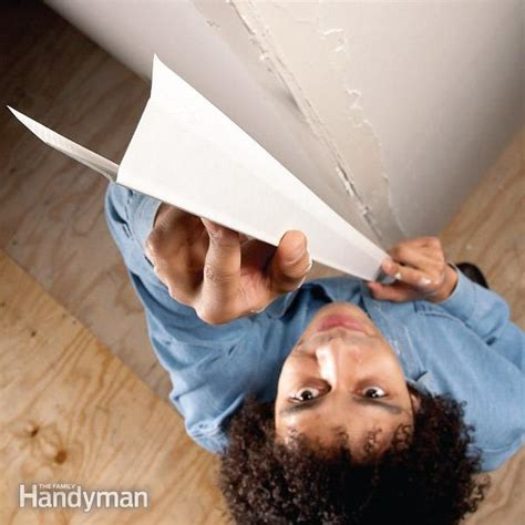 how to install corner bead how to install paper faced corner bead the family handyman